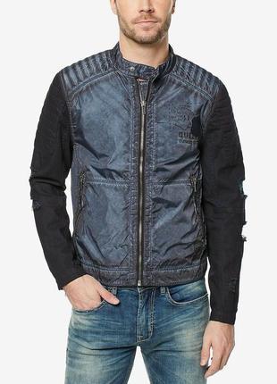Ветровка, легкая куртка в мото стиле buffalo david bitton