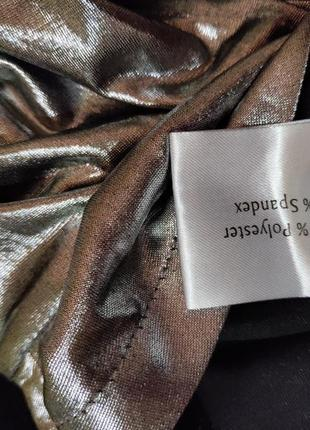 Платье мини по фигуре цвета металлик / серебристое nelly trend s,m4