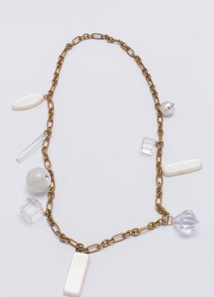 Стильные бусы ожерелье колье