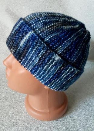 Мужская шапка из тенселя