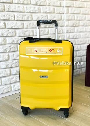 Airtex франция! малый чемодан для ручной клади пластиковый чемодан из полипропилена