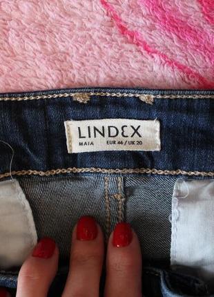Джинсы бойфренды lindex maia blue tapered jeans3 фото