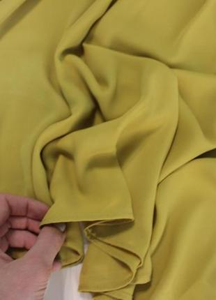 Primark.шикарная горчичная блуза.7 фото