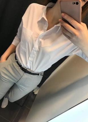 Рубашка блузка из хлопка ostin5 фото
