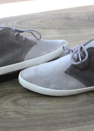 Дезерты ботинки fred perry натур. замш оригинал 42-43 размер