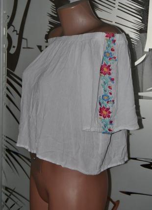Блузка вышиванка 100%вискоза