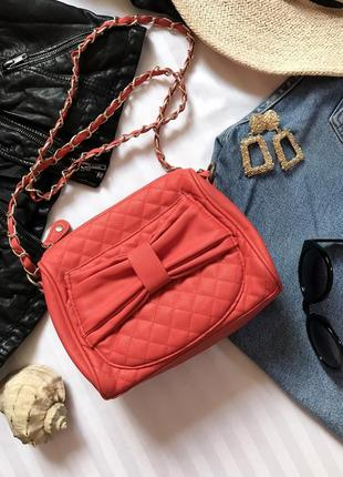 Фирменная сумочка кросс-боди клатч от bershka🌺 сумка на цепочке