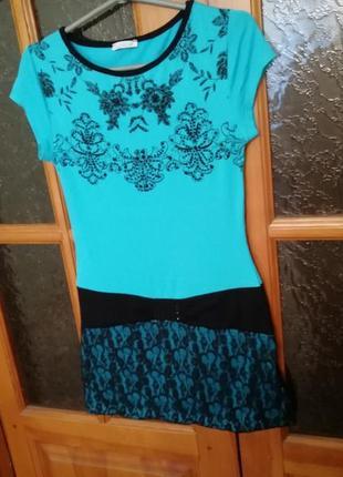 Платье туника на лето турция