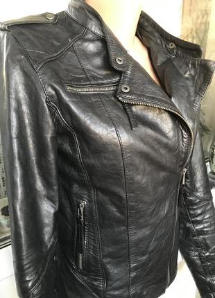 Кожаная куртка косуха! 100%кожа!