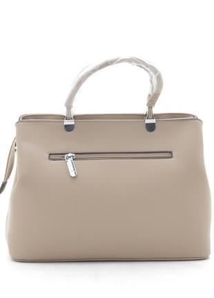 Новая бежевая женская сумка2 фото