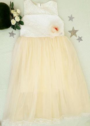 d3f590eba6c Бальные платья для девочек 6 лет 2019 - купить недорого вещи в ...