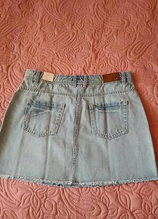 Суперная джинсовая юбка некст2 фото