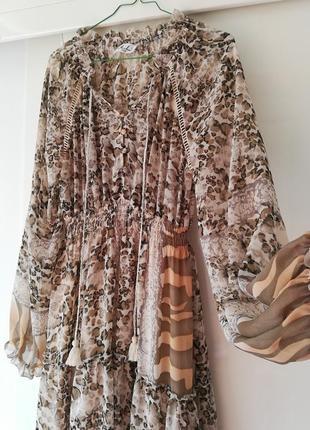 Шикарное платье италия  весна 20193 фото