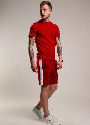 Мужской комплект шорты и футболка1 фото