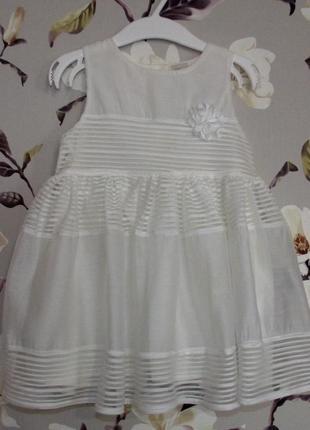 Нарядное платье на 12-18 м