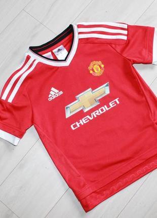 Футболка спортивная на 5-6 лет adidas manchester united
