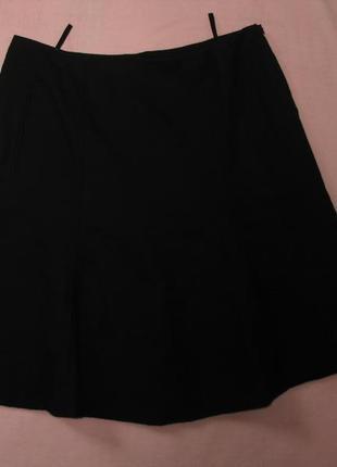 Юбка черная 100% шерсть
