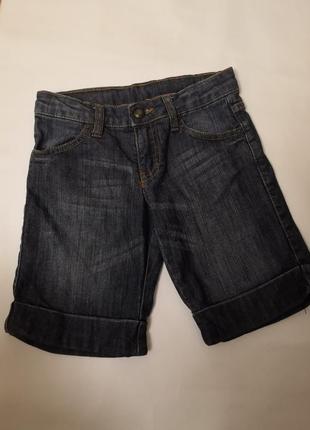 Джинсовые шорты ovs kids на 7-8 лет , рост 128 см
