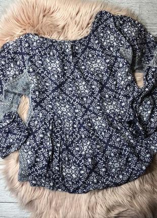 Натуральная блуза zara