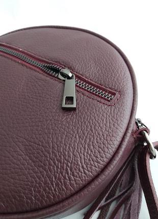 Женская кожаная сумка vera pelle s07236 фото
