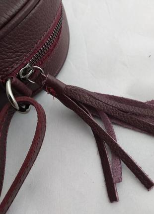 Женская кожаная сумка vera pelle s07237 фото