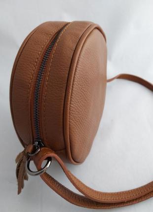 Женская кожаная сумка vera pelle s07235 фото