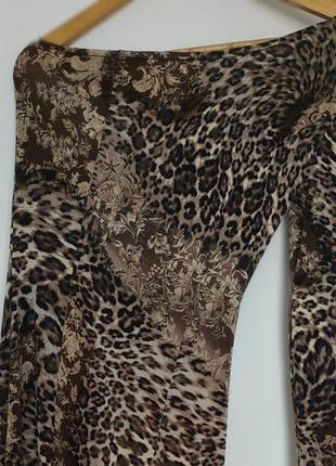 Платье с леопардовым принтом💣💥