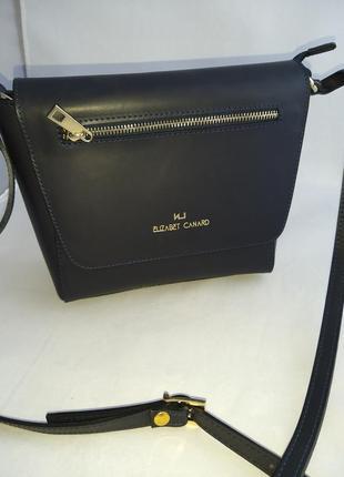 Женская кожаная сумка vera pelle ec-s05156 фото