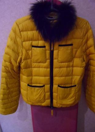 Супер легкий пуховик-куртка