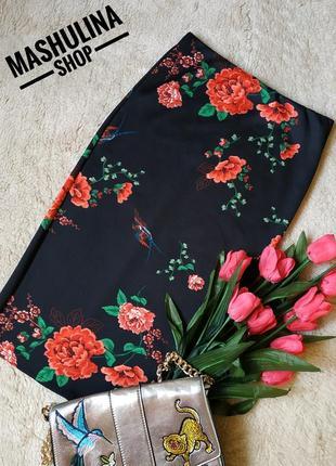 Красивая юбочка по фигурке в цветы фирмы dorothy perkins