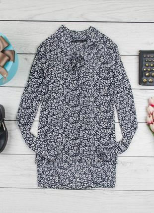 Стильная шелковая  блуза от zara рр xs