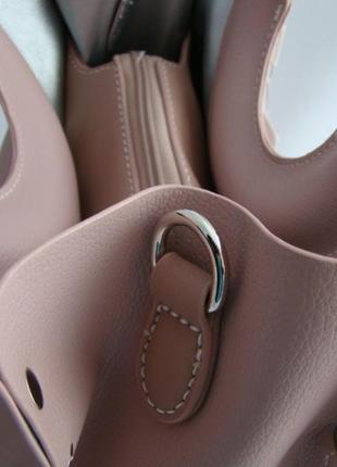 Женская сумка из экокожи david jones cm51352 фото