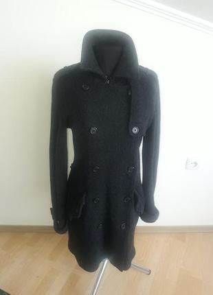 Отличное вязаное пальто от известного бренда ralph lauren