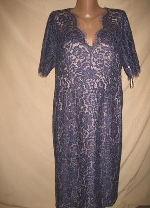 Кружевное платье monsoon р-р16