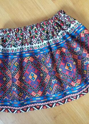 Юбка юбочка в украинском стиле 3-5 лет