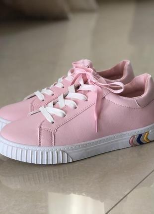 Розовые кеды/в наличии/наложка