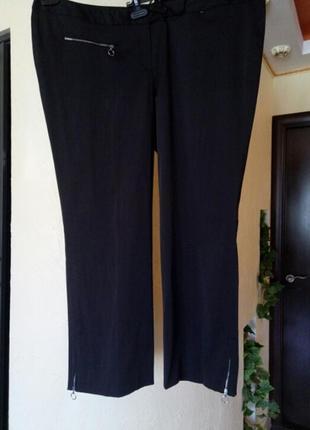 Классные зауженные брюки очень большого размера