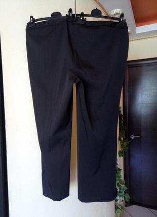Классные зауженные брюки очень большого размера3 фото