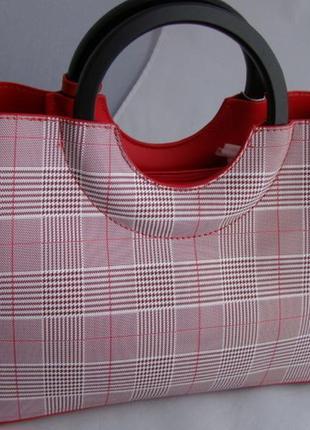 Женская сумка из экокожи david jones cm51932 фото