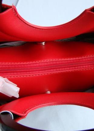 Женская сумка из экокожи david jones cm51934 фото