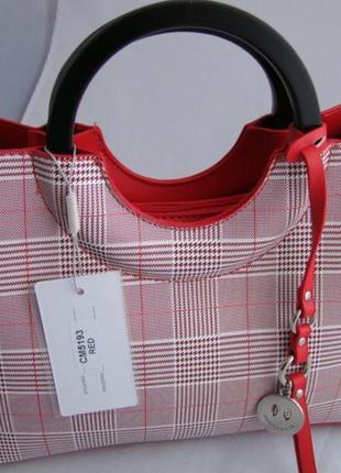 Женская сумка из экокожи david jones cm51936 фото