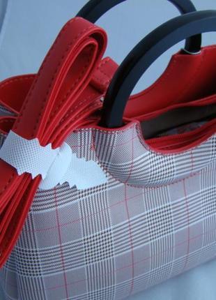 Женская сумка из экокожи david jones cm51937 фото