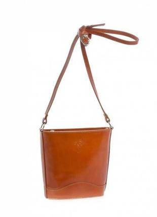 Женская кожаная сумка vera pelle s0178