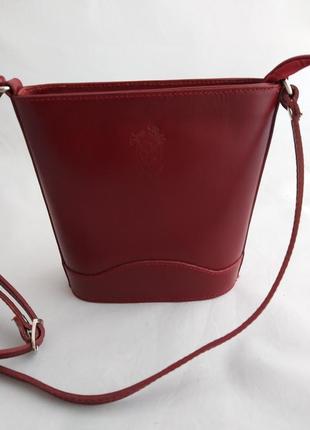 Женская кожаная сумка vera pelle s01782 фото