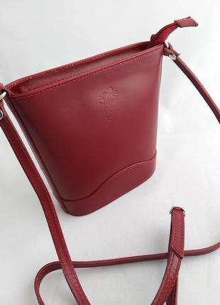 Женская кожаная сумка vera pelle s01783 фото