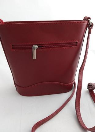 Женская кожаная сумка vera pelle s01785 фото