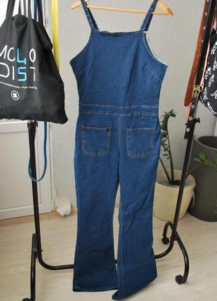 Новый джинсовый комбинезон boohoo