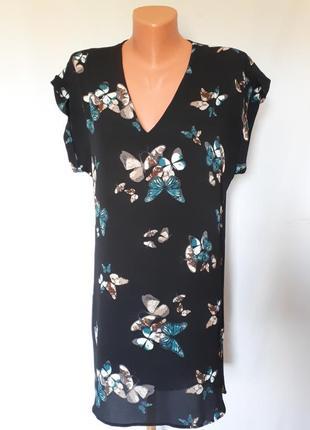 Легкое платье свободного кроя apricot (размер 10)