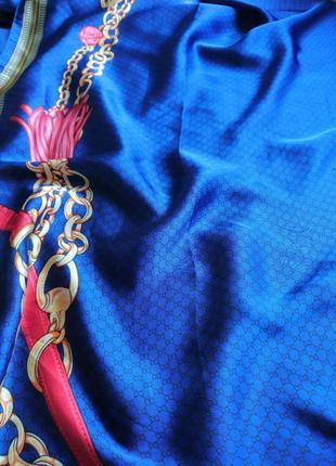 Очень красивый шёлковый шарф,палантин