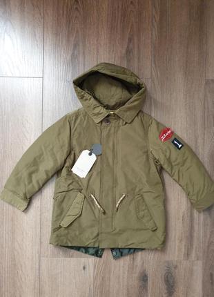 Zara парка курточка 110 р